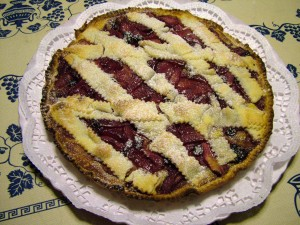 crostata pere mirtilli 5